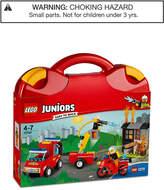 Lego 110-Pc. Juniors Fire Patrol Suitcase