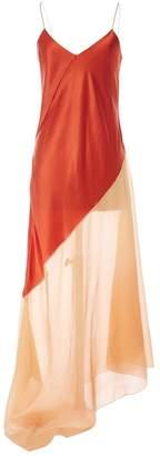 Jonathan Saunders Red Silk Dresses