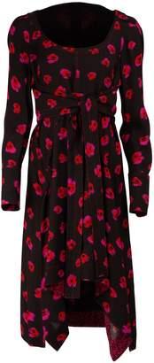Proenza Schouler Printed Short Dress