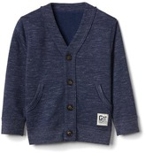 Gap V-neck terry cardigan