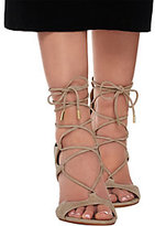 Marc Fisher Suede Lace-up Sandal Pumps - Benete
