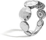 John Hardy Women's Dot 9MM Band Ring in Hammered Sterling Silver