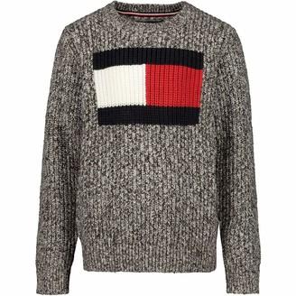 Tommy Hilfiger Boy's Flag Logo Sweater