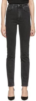 Totême Black Standard Jeans