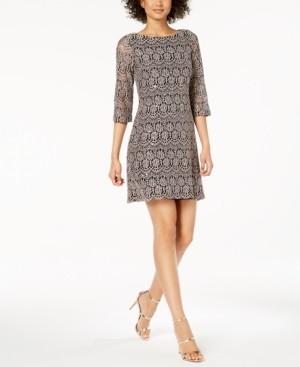 Jessica Howard Petite Lace Shift Dress