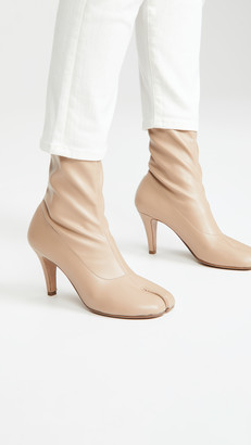 Maison Margiela Tabi Stretch Spike Heel Booties
