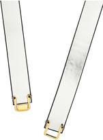 Marni Metallic leather belt