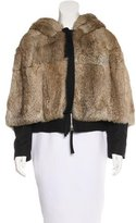 Marni Caped Fur Jacket