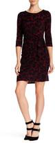 Leota 3/4 Length Sleeve Madison Sheath Dress