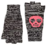 Flowers by Zoe Skull Knit Gloves