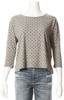 Current/Elliott CURRENT ELLIOTT Boxy Polka Dot Tee