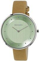 Skagen Women's SKW2327 Gitte Light Brown Leather Watch
