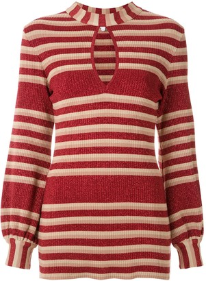 Nk Knitted Stripe Top