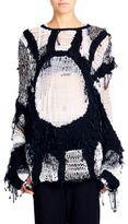 Ann Demeulemeester Open Hand-Knit Sweater