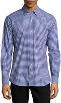 Tailorbyrd Men's Banks Cotton Casual Button-Down Shirt