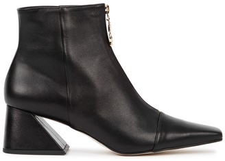YUUL YIE Totum 65 Black Leather Ankle Boots