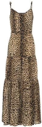 Veronica Beard Windansea cotton and silk maxi dress