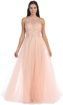 Dancing Queen - Majestic Dress with Lacy and Beaded Bodice 8952