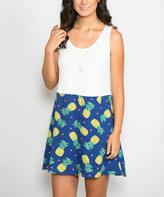 Off-White Pineapple Tunic Dress