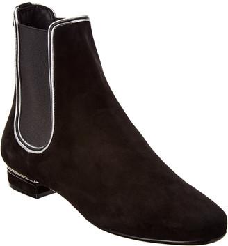 Salvatore Ferragamo Aicha Suede Ankle Boot