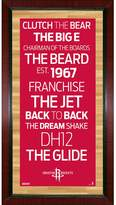 "Steiner Sports Houston Rockets 32"" x 16"" Vintage Subway Sign"