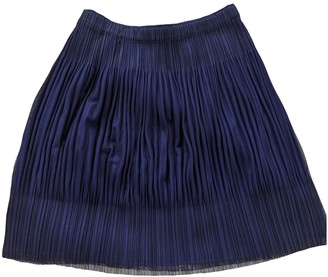 Pleats Please Blue Polyester Skirts