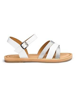 Cushion Walk Lightweight Sandals E Fit