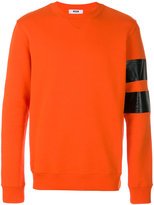 MSGM sweatshirt with arm bands