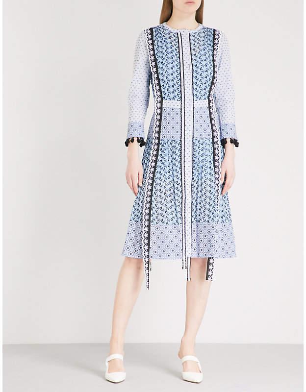 Altuzarra Grenelle embroidered cotton dress