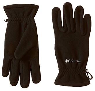 Columbia Fast Trektm Gloves (Black) Extreme Cold Weather Gloves