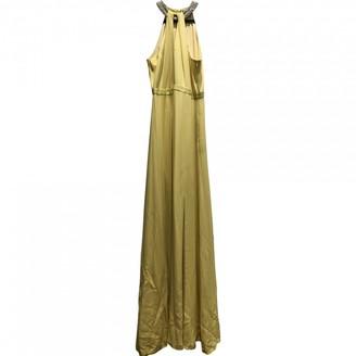Raoul Yellow Silk Dress for Women