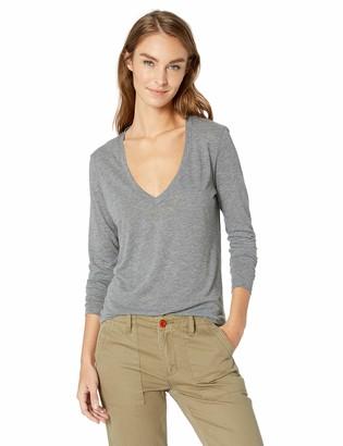 Alternative Women's Long Sleeve Slinky V-Neck