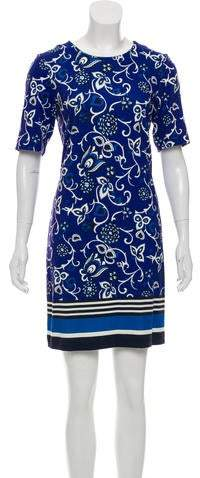 Draper James Printed Mini Dress