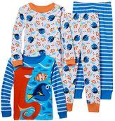 Disney Pixar Finding Dory Nemo, Dory & Hank Toddler Boy 4-pc. Pajama Set