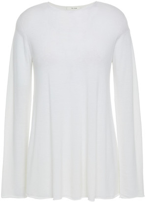 The Row Merino Wool And Cashmere-blend Top