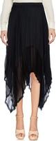 Enza Costa Knee length skirts - Item 35346011