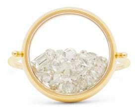 Aurélie Bidermann Fine Jewellery Aurelie Bidermann Fine Jewellery - Chivor Diamond & 18kt Gold Ring - Womens - White Gold
