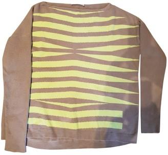Mauro Grifoni Camel Wool Knitwear for Women