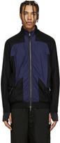 11 By Boris Bidjan Saberi Black and Blue Track Jacket