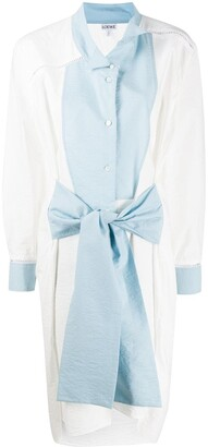 Loewe Panelled Shirt Dress
