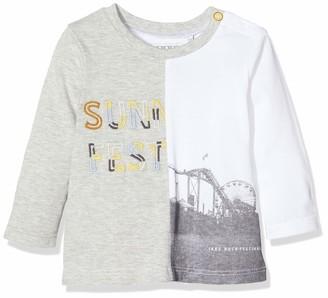 Ikks Junior Baby Girls' Tee-Shirt Bi Motif Long-Sleeved Top