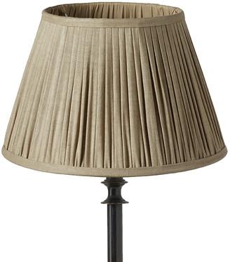 OKA 35cm Pleated Linen Lampshade