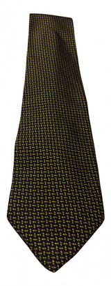 Etro Black Silk Ties