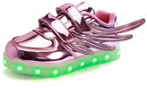 Fuiigo LED Shoes For Kids Boys Girls USB Charging Student Sneakers 12 M US