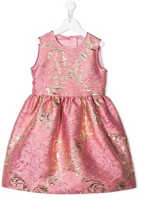 Dolce & Gabbana Lame Jacquard Dress