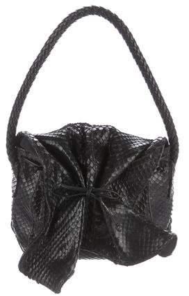 Carlos Falchi Python Handle Bag