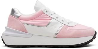 Car Shoe Colour-Block Sneakers