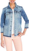 Jessica Simpson Embroidered Super Loved Denim Jacket