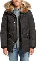 Mackage Men's 'Edward' Down Parka With Genuine Coyote And Rabbit Fur Trim