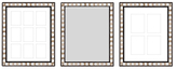 PTM Images Sophia Gallery Wall Mirrors & Photo Collages (Set of 3)